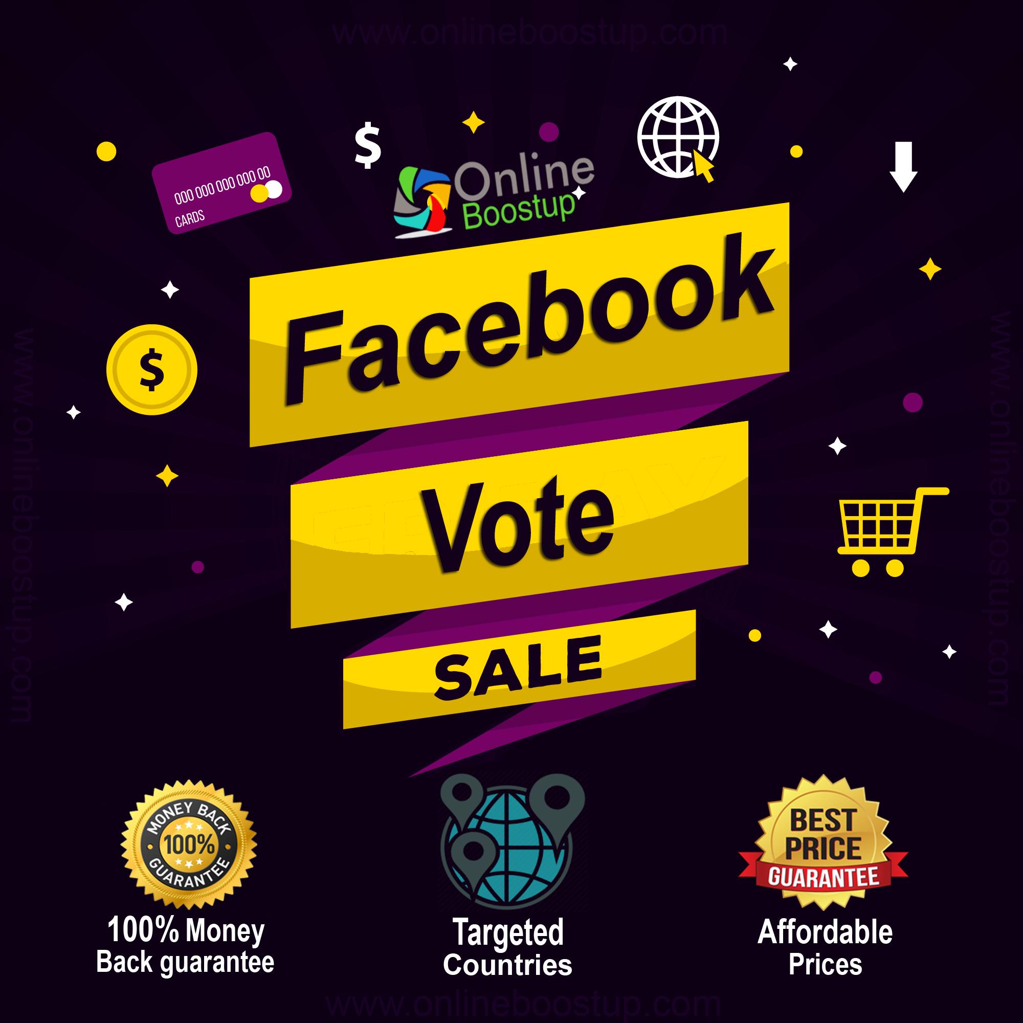 Buy Facebook Votes Cheap